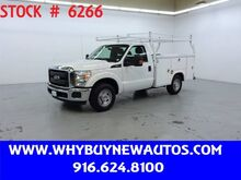 2015_Ford_F250_Utility ~ Only 33K Miles!_ Rocklin CA