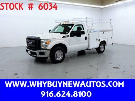 2015 Ford F250 Utility ~ Only 35K Miles! Rocklin CA