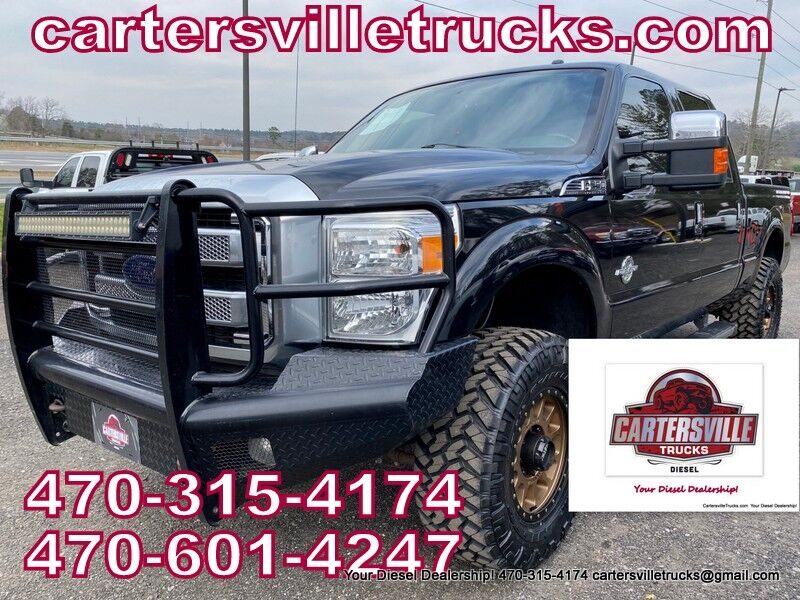 2015 Ford F250sd Platinum Cartersville GA