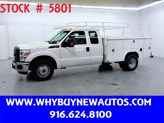 Ford F350 Enclosed Utility ~ Extended Cab ~ Only 66K Miles! 2015