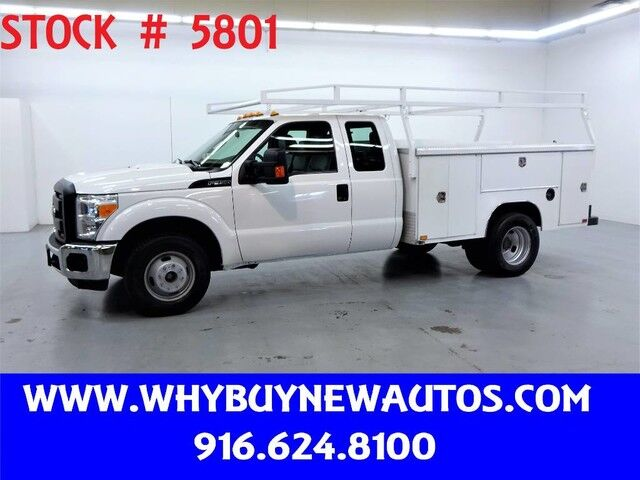 2015 Ford F350 Enclosed Utility ~ Extended Cab ~ Only 66K Miles! Rocklin CA