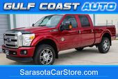 2015 Ford F350 SRW PLATINUM TURBO DIESEL 4x4 NAVI SUNROOF 1 OWNER TRUCK WARRANTY