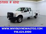2015 Ford F350 Utility ~ 4x4 ~ Extended Cab ~ Only 73K Only Miles!