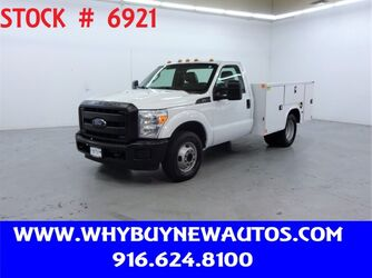 Ford F350 Utility ~ Liftgate ~ Only 80K Miles! 2015
