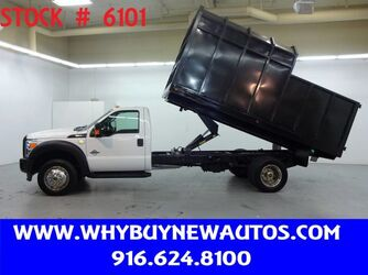 Ford F550 ~ Diesel ~ 14ft. Chipper Bed ~ Only 53K Miles! 2015