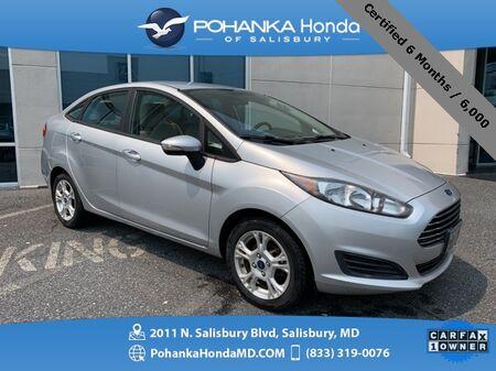2015_Ford_Fiesta_SE ** Certified 6 Months / 6,000 **_ Salisbury MD