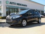 2015 Ford Fiesta SE Hatchback CLOTH, HTD FRONT STS, BLUETOOTH, USB/AUX, TRUNK COVER, CLIMATE CONTROL, UNDER WARRANTY