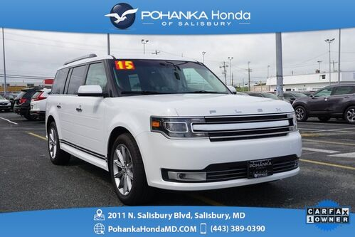 2015_Ford_Flex_Limited AWD ** NAVIGATION & 3RD ROW SEATING ** ONE OWNER *_ Salisbury MD