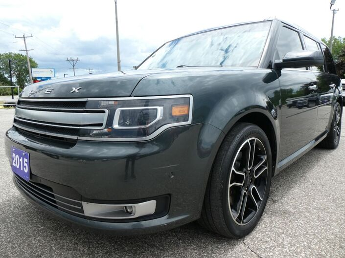 2015 Ford Flex Limited Cooled Seats Remote Start Sunroof Essex ON