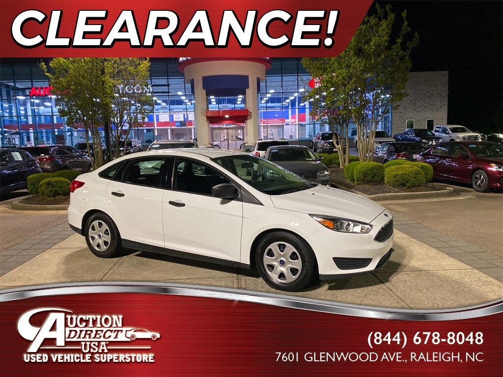 2015 Ford Focus S Raleigh NC