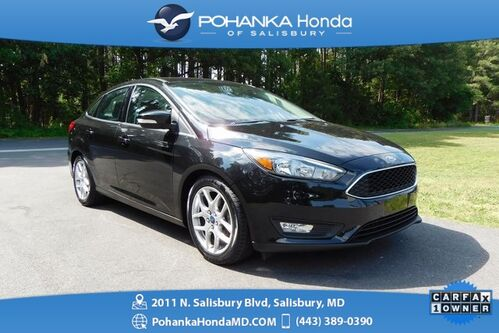 2015_Ford_Focus_SE ** LEARTHER & REAR VIEW CAMERA ** ONE OWNER **_ Salisbury MD