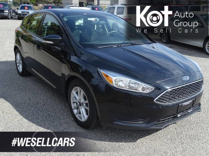 2015 Ford Focus SE, Back-Up Camera, Low KM's, Hatchback, No Accidents! Penticton BC