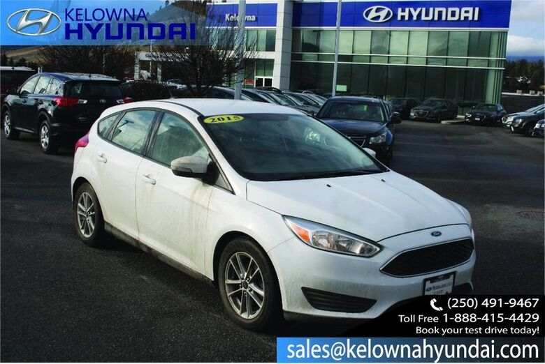 2015 Ford Focus SE Bluetooth, Steering Wheel Controls, Usb Port And Auxiliary Input Jack Kelowna BC