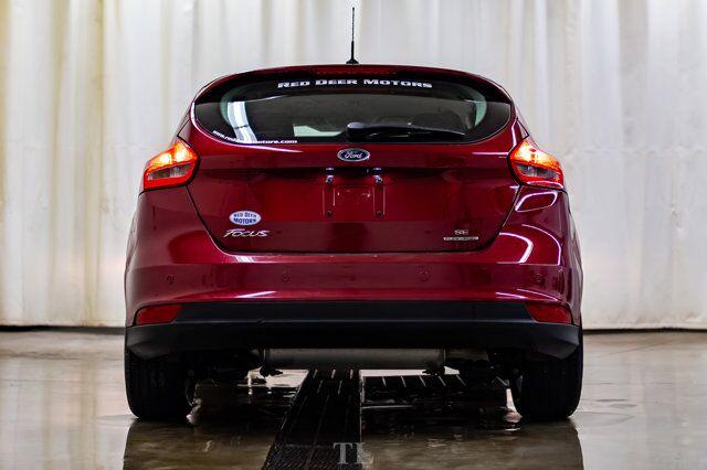 2015 Ford Focus SE Hatchback BCam HSeat Red Deer AB