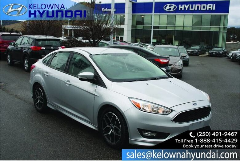 2015 Ford Focus SE No Accident Low payment Kelowna BC