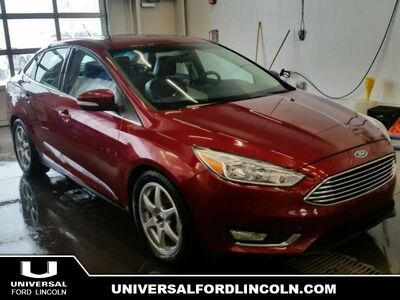 2015_Ford_Focus_Titanium  - Certified - Leather Seats_ Calgary AB