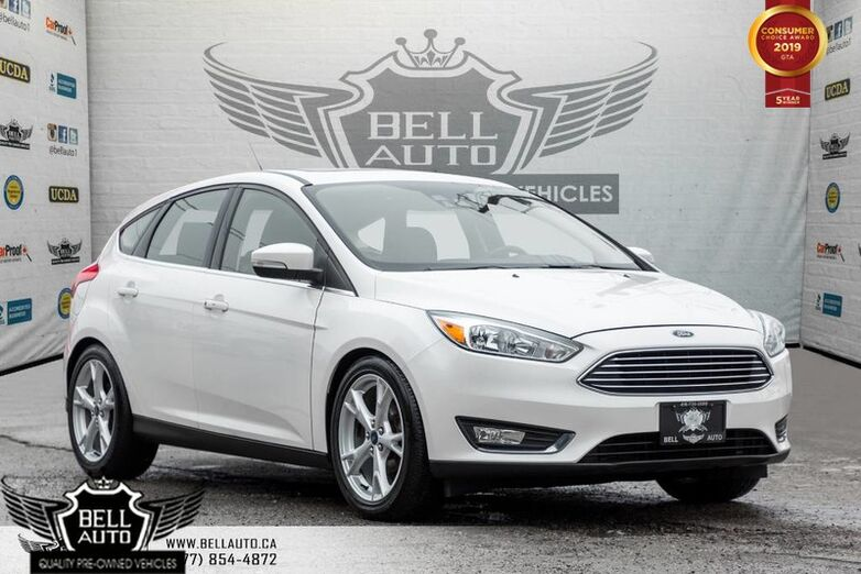 2015 Ford Focus Titanium, NAVI, BACK-UP CAM, LEATHER, PUSH START, BLUETOOTH Toronto ON