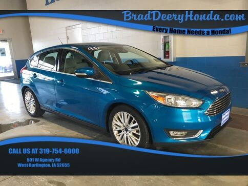 2015_Ford_Focus_Titanium_ West Burlington IA