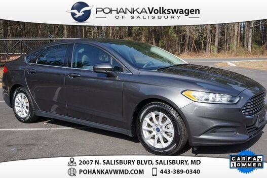 2015_Ford_Fusion_S **CARFAX ONE OWNER**_ Salisbury MD