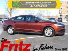 2015_Ford_Fusion_S_ Fishers IN