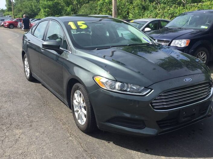 2015 Ford Fusion S Rock City NY