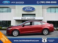 2015_Ford_Fusion_S_ Norwood MA