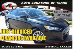 2015_Ford_Fusion_S_ Plano TX