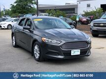 2015 Ford Fusion S South Burlington VT