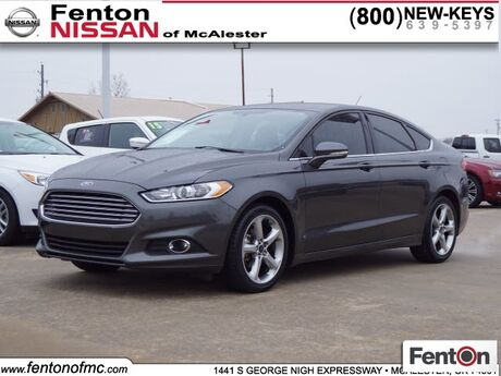 2015 Ford Fusion SE McAlester OK