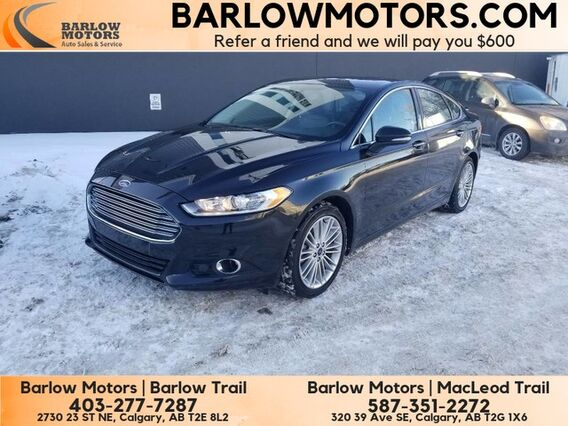 2015_Ford_Fusion_SE AWD NAVI SUNROOF LEATHER_ Calgary AB