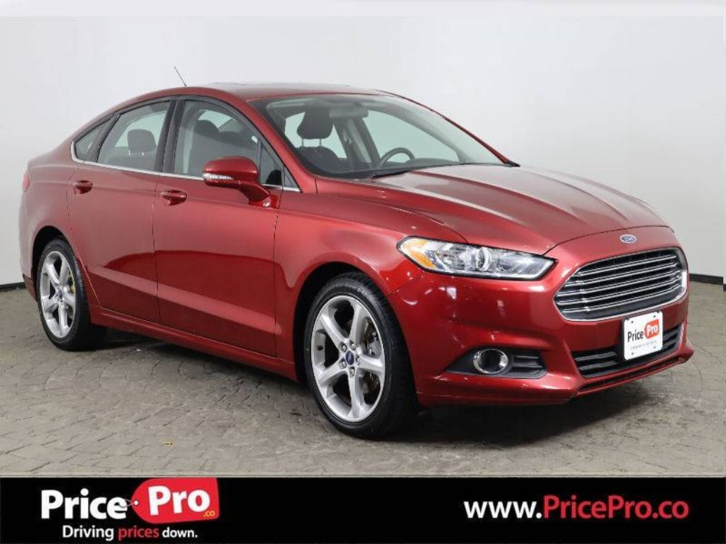 2015 Ford Fusion SE Sport Pkg Ecoboost w/Sunroof Maumee OH