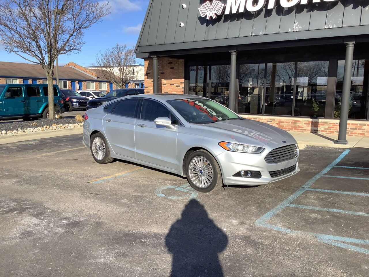 2015 Ford Fusion Titanium 4dr Sedan Chesterfield MI