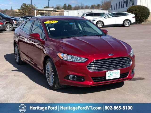2015 Ford Fusion Titanium South Burlington VT