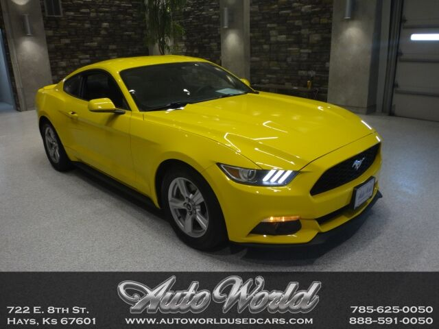 2015 Ford MUSTANG FASTBACK ECO  Hays KS
