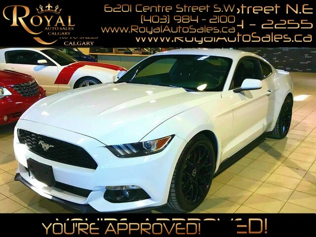 2015_Ford_Mustang_EcoBoost BLUETOOTH, USB PORT, INT PHONE_ Calgary AB