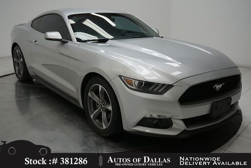 2015_Ford_Mustang_EcoBoost CAM,CLMT STS,PARK ASST,18IN WHLS_ Plano TX