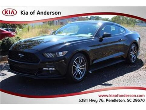2015_Ford_Mustang_EcoBoost Fastback_ Pendleton SC