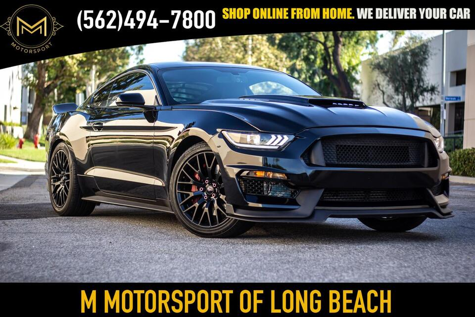 2015_Ford_Mustang_EcoBoost Premium Coupe 2D_ Long Beach CA