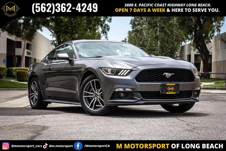 2015 Ford Mustang EcoBoost Premium Coupe 2D Long Beach CA