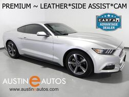 2015_Ford_Mustang EcoBoost Premium_*LEATHER, BACKUP-CAMERA, BLIND SPOT MONITOR, TOUCH SCREEN, CLIMATE SEATS, PUSH BUTTON START, SHAKER AUDIO, BLUETOOTH_ Round Rock TX