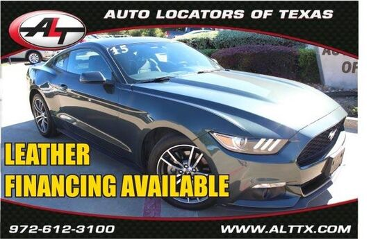 2015 Ford Mustang EcoBoost Premium Plano TX