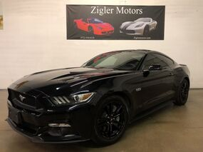 Ford Mustang GT 5.0 V8 GT Performance 6-Speed Manual Black Clean Carfax Warranty 2015