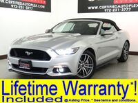 Ford Mustang GT PREMIUM CONVERTIBLE REAR CAMERA HEATED COOLED LEATHER SEATS KEYLESS ENTR 2015