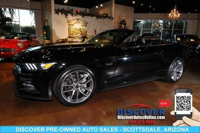 2015 Ford Mustang GT Premium Convertible Scottsdale AZ