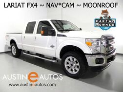 2015_Ford_Super Duty F-250 4WD Lariat_*NAVIGATION, BACKUP-CAMERA, MOONROOF, LEATHER, CLIMATE SEATS, FX4, OFF ROAD PACKAGE, SONY AUDIO, BLUETOOTH_ Round Rock TX