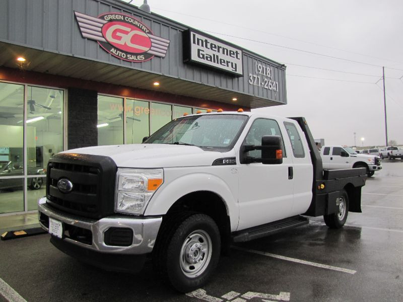 2015 Ford Super Duty F-250 4x4 Flatbed 75k mi's XL Collinsville OK