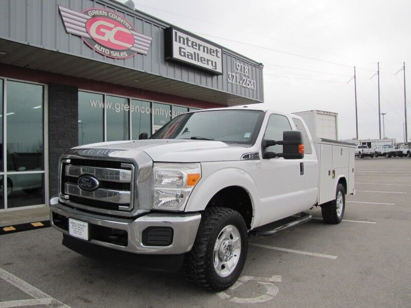 2015 Ford Super Duty F-250 4x4 Utility XLT Collinsville OK