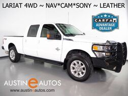 2015_Ford_Super Duty F-250 SRW 4WD Lariat_*FX4 OFF ROAD PKG, NAVIGATION, BACKUP-CAMERA, TOUCH SCREEN, LEATHER, CLIMATE SEATS, SONY AUDIO, REMOTE START, 20 INCH WHEELS, BLUETOOTH_ Round Rock TX