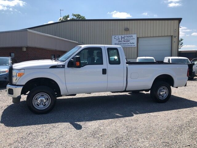 2015 Ford Super Duty F-250 SuperCab 4x4 LWB w/ Lift Gate XL Ashland VA