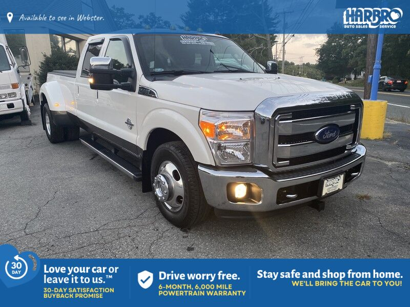 2015 Ford Super Duty F-350 DRW Lariat Webster MA